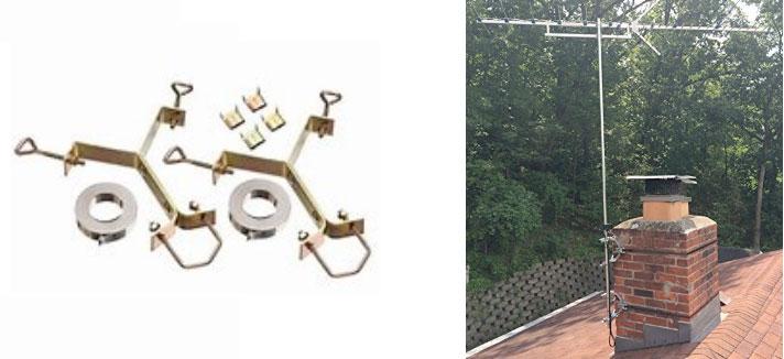 Tv Antenna Mount Amp Tower Options The Antenna Men